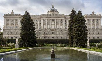 El palacio Real de Madrid digno de ver.